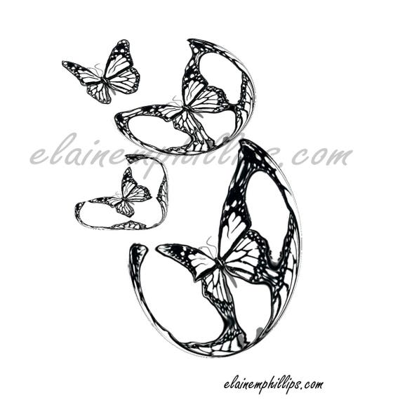 Butterfly Adult Coloring Page Printable For