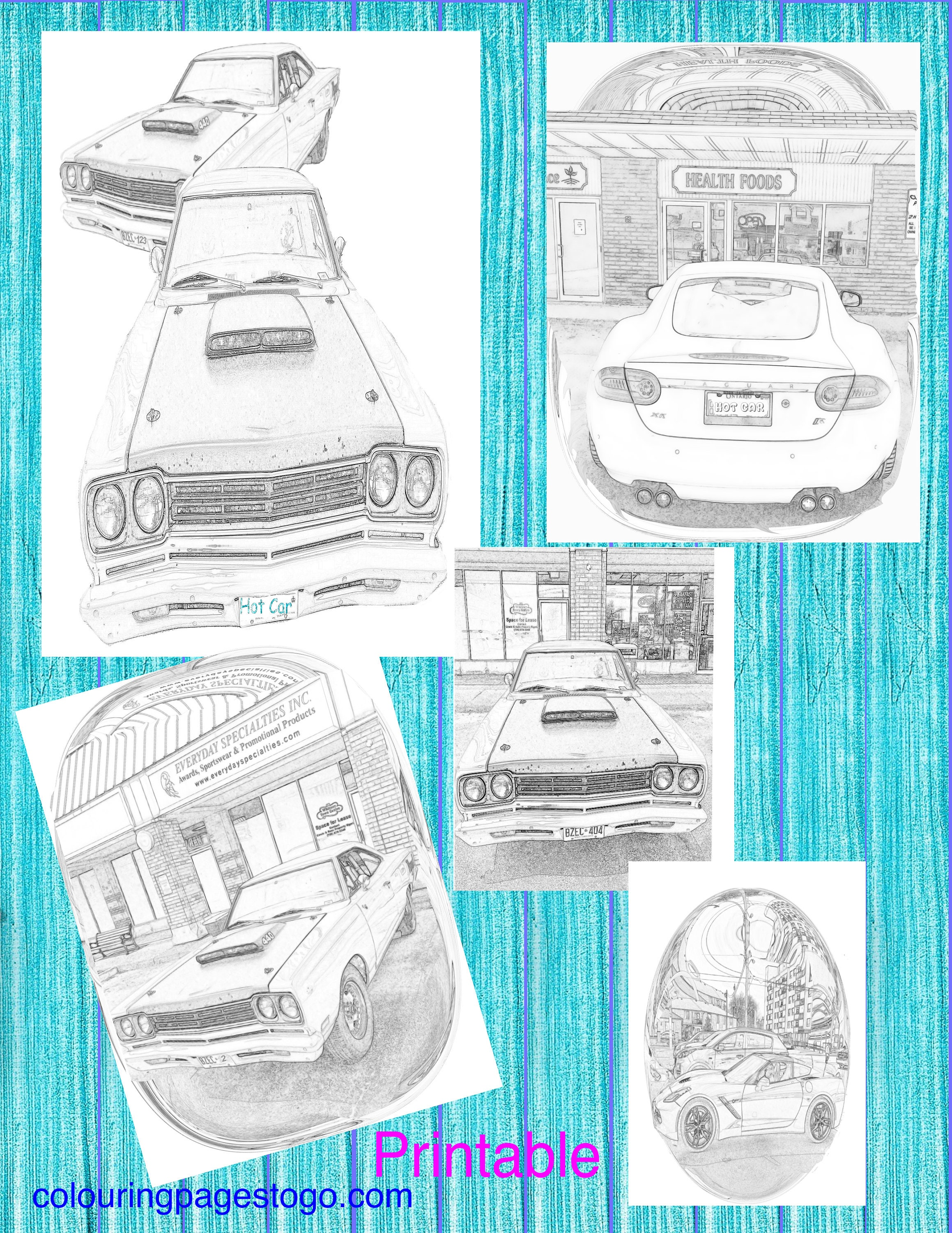 Car Coloring Pages Adult Coloring Ok Sit Back And Shift