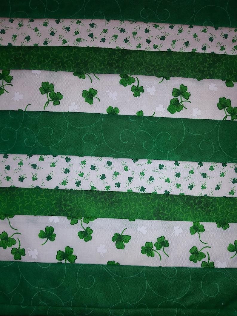 Irish Luck table runner