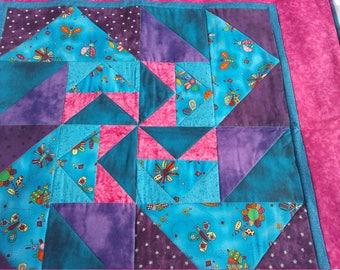 Child's pinwheel quilt
