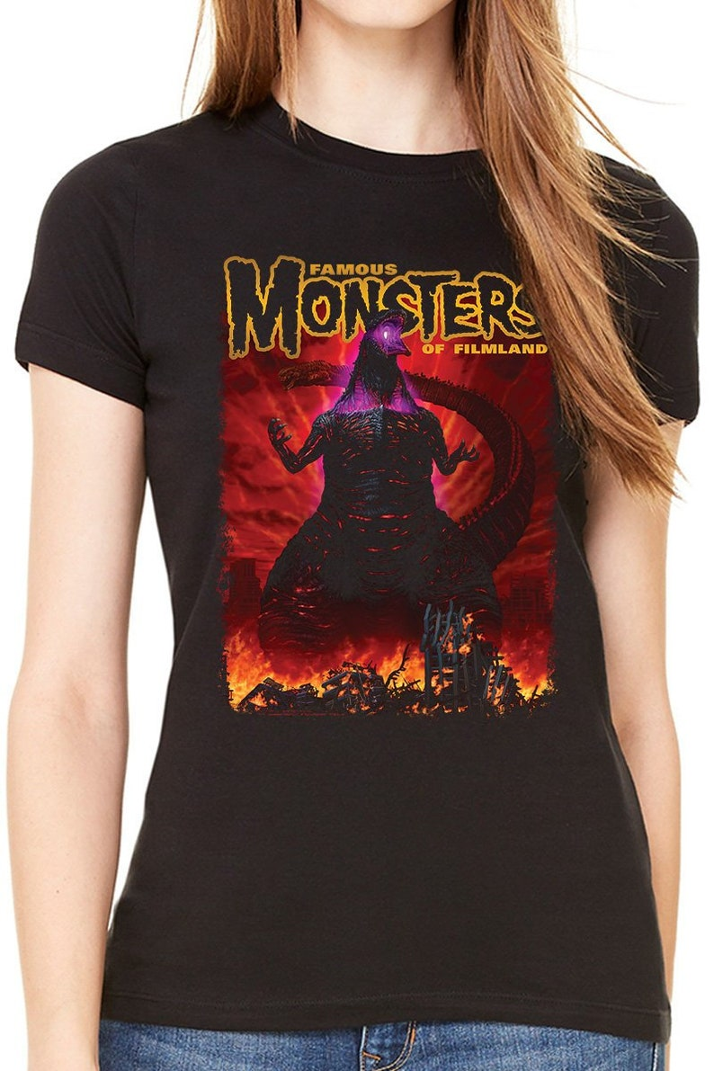 51d05d0a Famous Monsters Shin Godzilla Women's Tee | Etsy