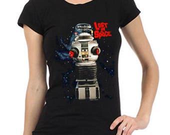 Lost in Space Robot Women's Tee