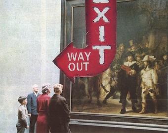 EXIT // Photomontage / Postcard / Collage