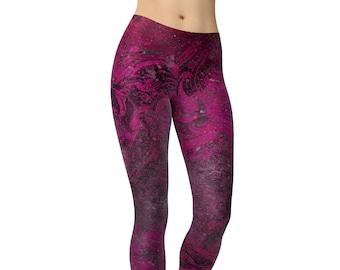 6372470e816 Fuchsia Workout Leggings