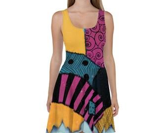 Sally Nightmare Inspired Dress   Running Costume for Wine & Dine   Princess Run Half Marathon Weekend   Halloween
