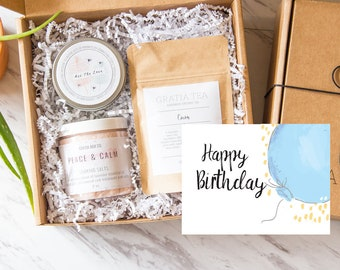 Happy Birthday Gift Box Send A Gifts For Her Friend Spa