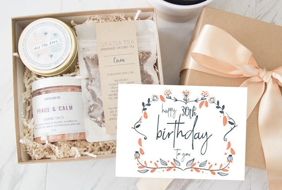 30th Birthday Gift For Her Happy Basket Send