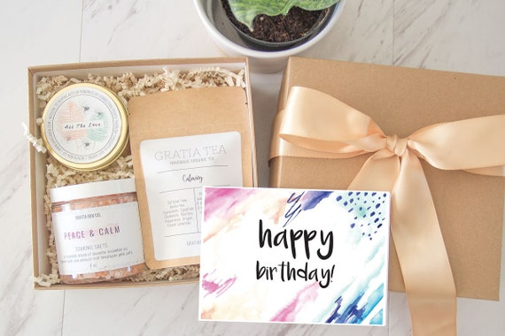 Birthday Gift Happy Lavender Box Gifts For Her