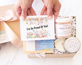 I'm So Proud Of You Gift Box - Graduation Gift | College Graduation | Gift For her | Appreciation Gift | Sorority | Law School