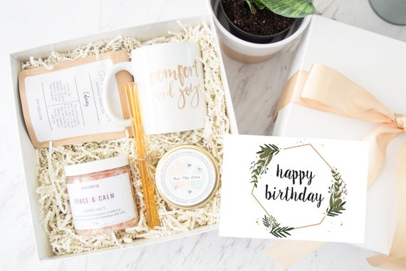Mini Spa Gift Set Happy Birthday Box Gifts For Her