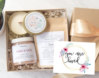 You Are Loved Mini Gift Box Miscarriage Gift Wishing Well Box Self Care Get Well Gift Spa Gift Basket Miscarriage Memorial Care Package
