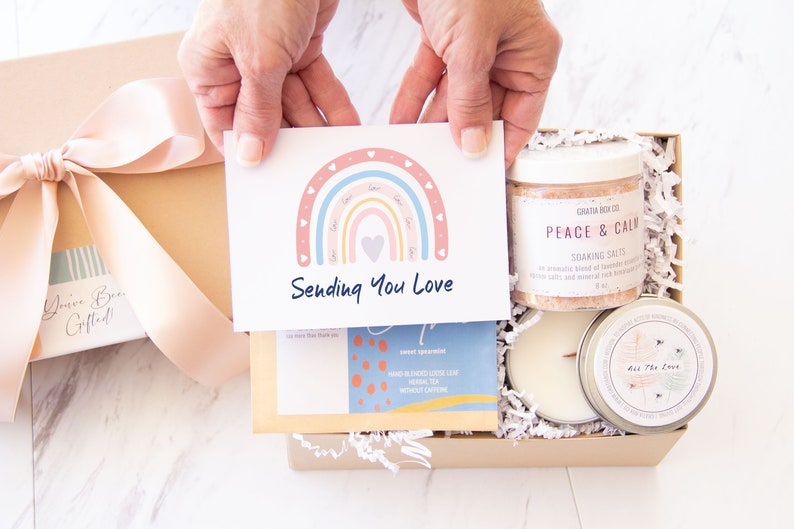 Stress Care Package Gift Box  Self Care Package Gifts For image 0