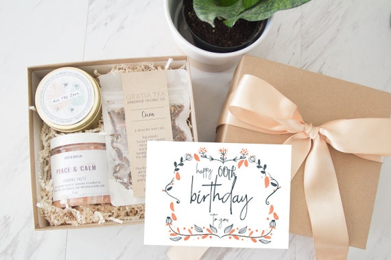 60th Birthday Gift Box Happy Basket Send