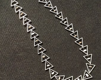 Sophisticated Angles Necklace