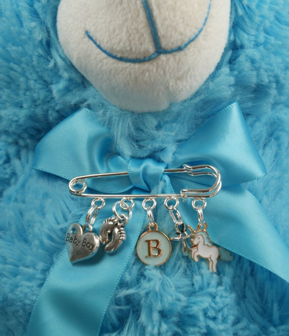 1 Baby Boy Pram Charm for bracelet necklace  etc baby shower new mum gift