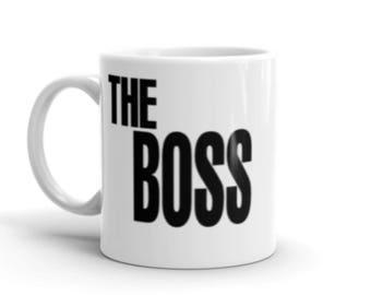 The Boss 11oz Mug