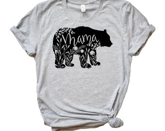 b5c743ff586 Mama Bear Shirt Plus Size Mama Bear T Shirt Mom Shirt Womens T shirt Mother  Day Shirt Wife Shirt Family Shirts Bear tee for Mom Mothers Day