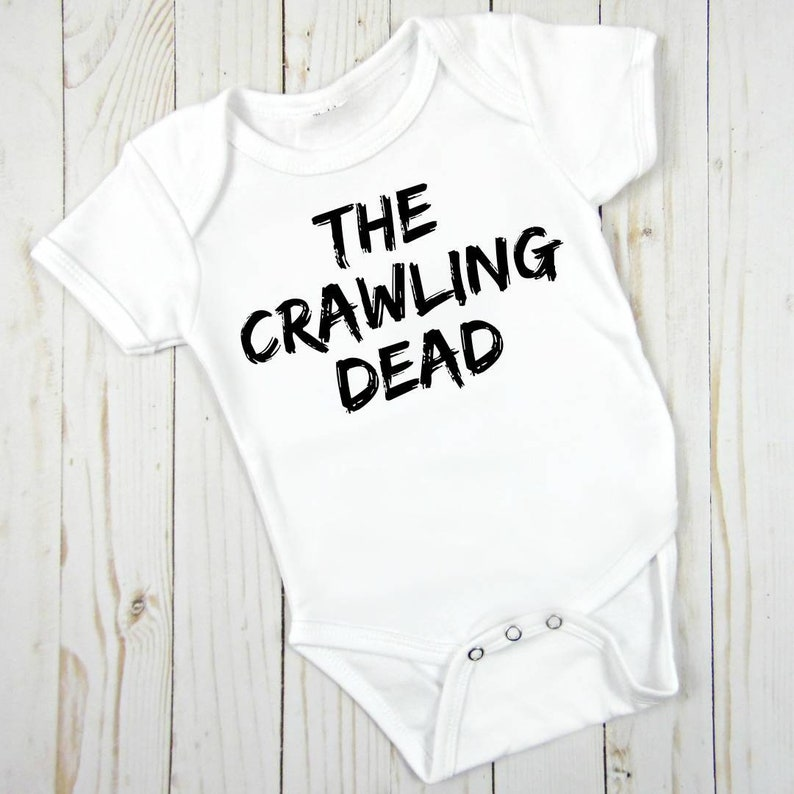 89a2afcb6f4 Kids funny costume the Crawling Dead onesie / infant bodysuit | Etsy
