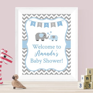 Baby Shower Sign Personalized Welcome Sign Elephant Welcome Sign Elephant Baby Shower Elly Patches Baby Shower Welcome Sign