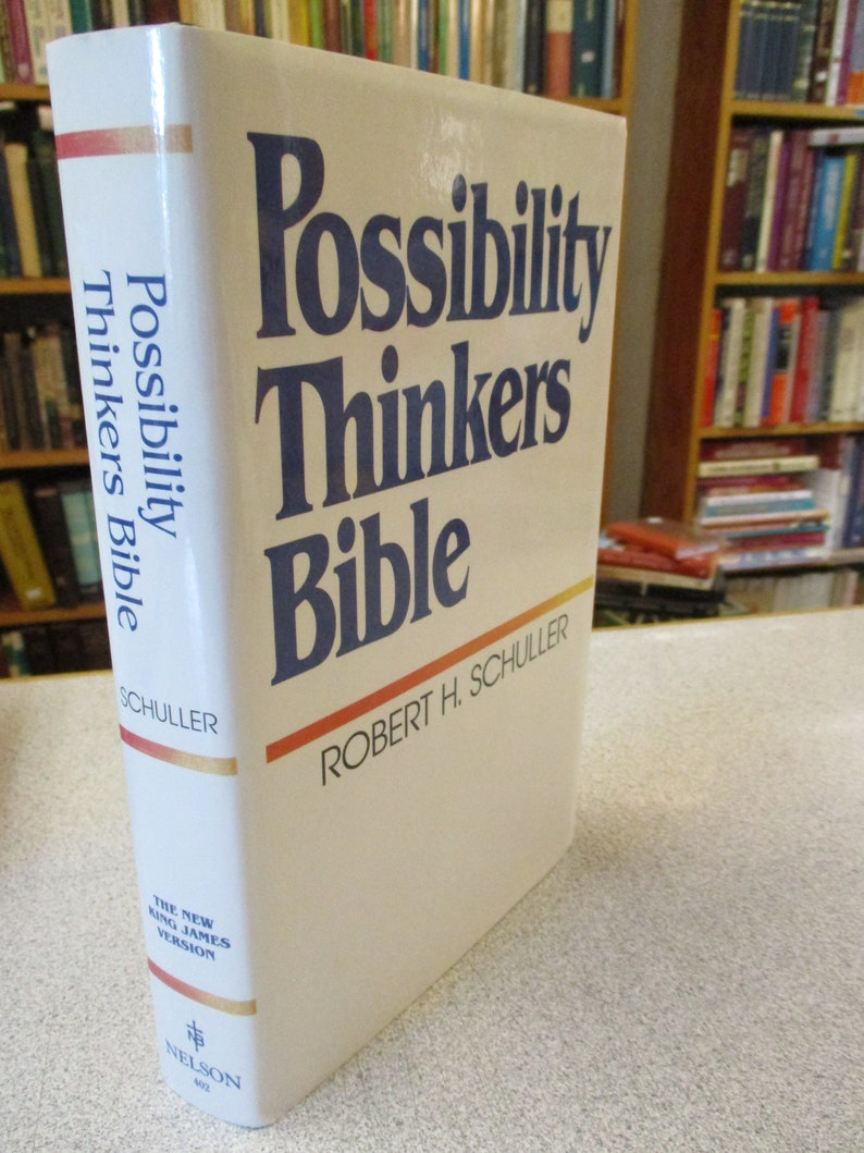 NKJV BIBLE Possibility Thinkers Bible Robert H Schuller Hour of Power New  Hardcover New King James Bible Christian books Religious