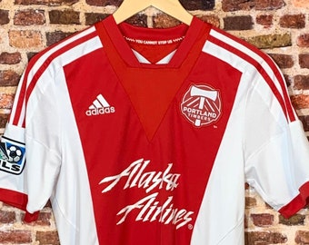 Portland Timbers Men's Small 2012 Away Jersey RARE made by Adidas