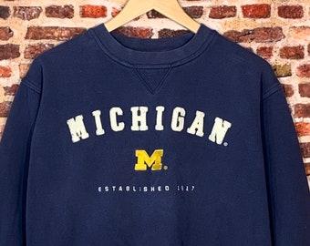 VTG Michigan State University Wolverines Men/'s Size Large Crewneck Sweatshirt