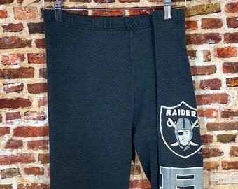Vintage Early 90's Los Angeles Raiders Men's Small Sweatpants