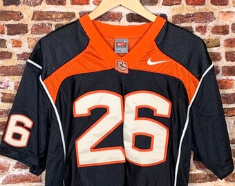 Vintage Oregon State Beavers Football Yvenson Bernard Men's Small #26 Stitched Jersey made by Nike RARE