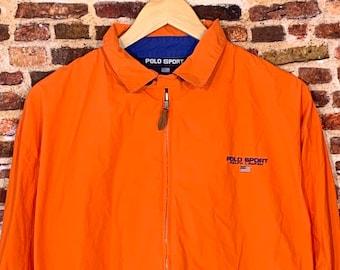 Vintage 90's Polo Sport by Ralph Lauren Men's Large Windbreaker Jacket
