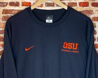 Nike Oregon State Beavers Football Video Staff Exclusive Men's Large Fleece Sweatshirt