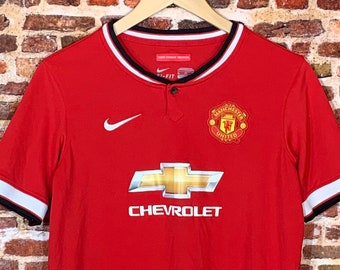Manchester United Youth XL (18-20Y) Soccer Jersey made by Nike
