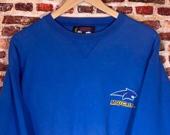 Vintage Montana State University Men's Large Crewneck Sweatshirt Rare