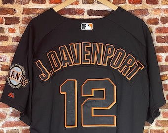 Jim Davenport San Francisco Giants Size 46 (Large) Autographed Authentic On Field Jersey made by Majestic