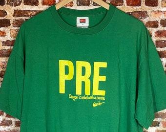 Vintage Nike Steve Prefontaine Men's XL Graphic Tee Shirt