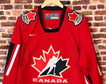 Vintage Canada Hockey Men's Medium Stitched Jersey RARE made by Nike
