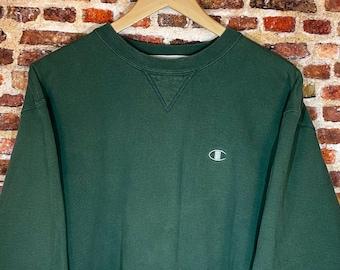 Vintage 90's Champion Men's Large Heavyweight Crewneck Sweatshirt Rare
