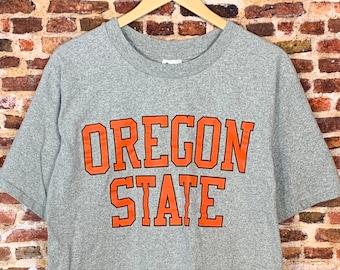 Vintage Oregon State Beavers Men's Large Tee Shirt Rare