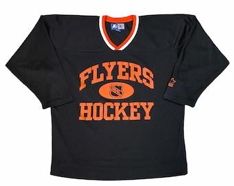 Vintage 90's Starter Philadelphia Flyers Men's Medium Hockey Jersey