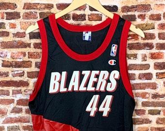 Vintage Brian Grant Portland Trail Blazers Men's Medium (Size 40) #44 Champion Jersey Rare
