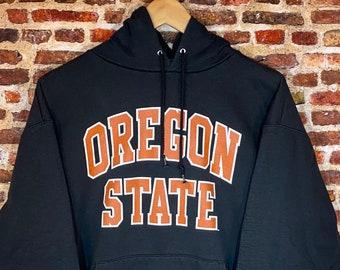 Vintage Champion Oregon State Beavers Men's Large Classic Hoodie Sweatshirt