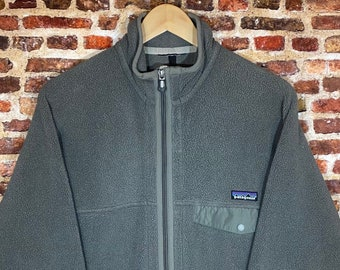 Vintage Patagonia Synchilla Men's Large Full Zip Fleece Jacket