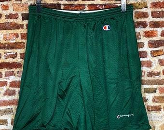 Vintage 90's Champion Men's Large Essential Mesh Training Shorts
