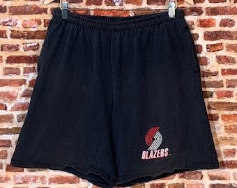 Vintage 90's Portland Trail Blazers Men's XL Shorts Rare