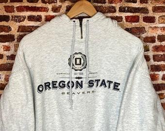 Vintage 90's Oregon State Beavers Men's XL Hoodie Sweatshirt Rare made by Jansport