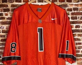 Vintage Nike Jaquizz & James Rodgers Oregon State Beavers Men's XL Split Football Jersey Rare