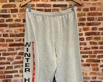 Vintage Early 90's Portland Winterhawks Hockey Men's XL Sweatpants RARE
