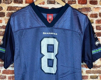 Vintage Matt Hasselbeck Seattle Seahwks Youth XL Jersey Rare made by Reebok