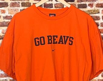 Vintage Nike Oregon State Beavers Men's XL Tee Shirt