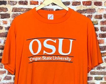 Vintage 80's Oregon State Beavers Men's XL Tee Shirt RARE