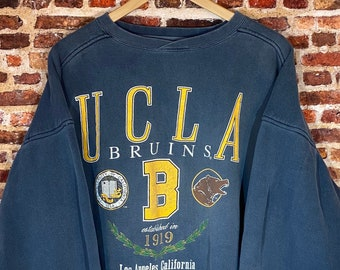 Vintage Early 90's UCLA Bruins Men's XL Heavyweight Crewneck Sweatshirt Rare made by Galt
